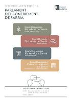 Parlament del Coneixement de Sarrià 6, 7, 8 i 9
