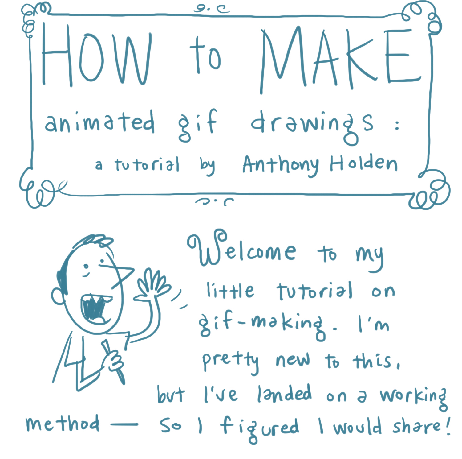 Sketch Adventure!: How To Make Animated GIFs: a Brief Tutorial