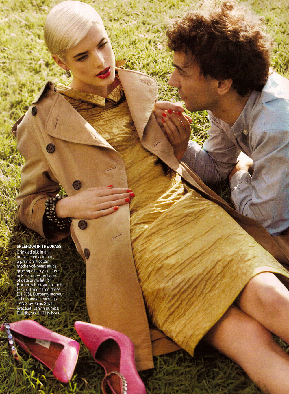 Vogue US February 2009 via www.fashionedbylove.co.uk