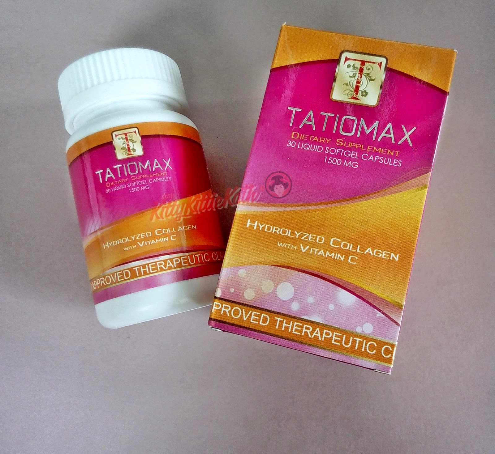 Product Review Tatiomax Hydrolyzed Collagen With Vitamin C Dear White Vit
