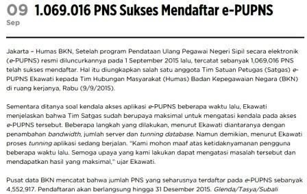 berita e-PUPNS 2015