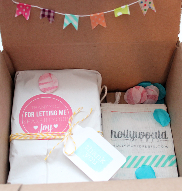 Holly Would Press Packaging