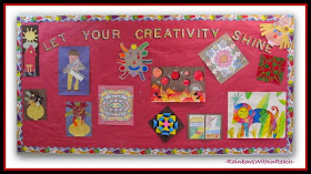Creativity Bulletin Board: 200+ Back to School Bulletin Boards at RainbowsWithinReach