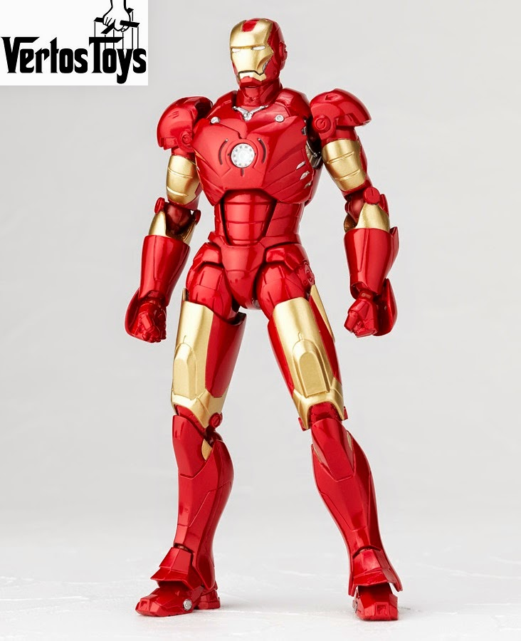IN STOCK Revoltech SFX Series 036 - Iron Man [Mark III]
