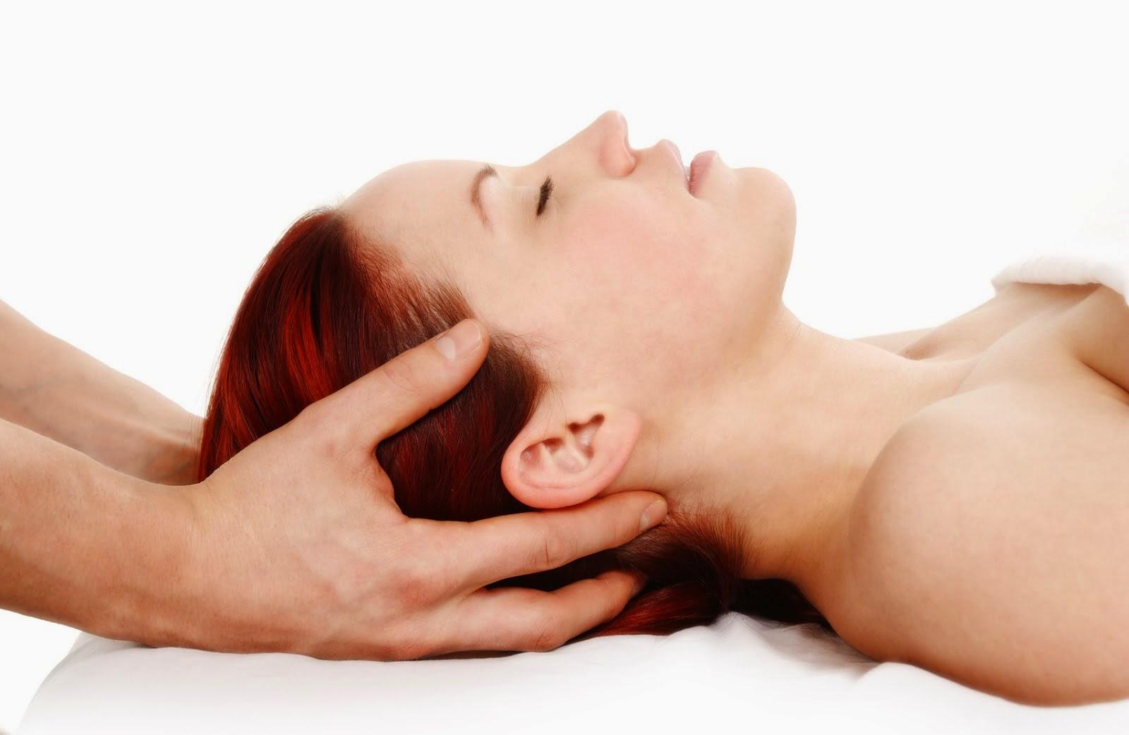 特徴3 ヘッドマッサージ頭蓋骨矯正。