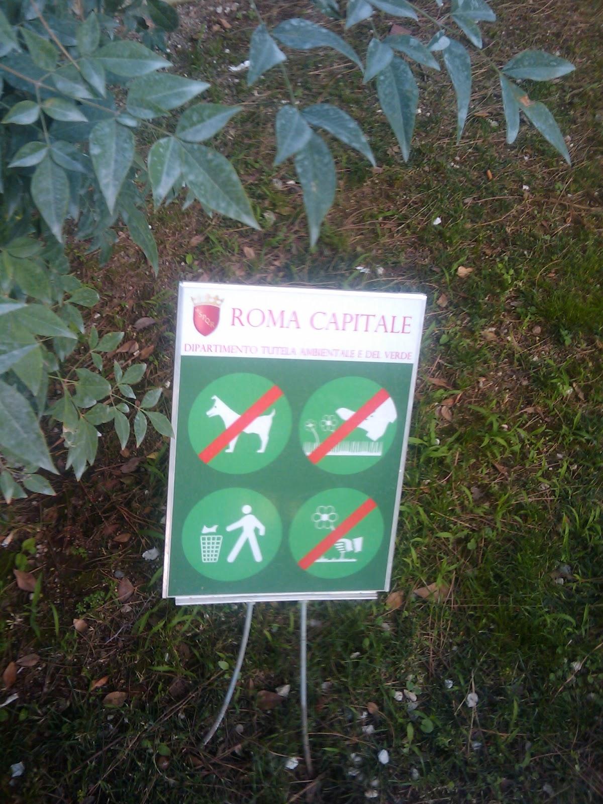 ROMA FA SCHIFO: Che anche al Giardino degli Aranci possano essere ...