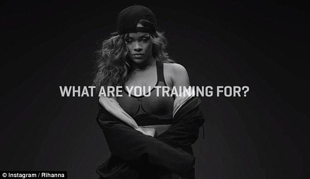 Rihanna strips to a bra for sexy Puma ad