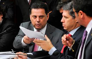 Marconi Perillo, governador de Goiás, depõe na CPI do Cachoeira
