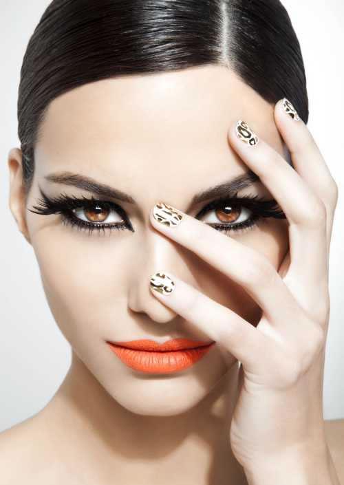 as unhas decoradas Como Combinar Batom e Esmalte