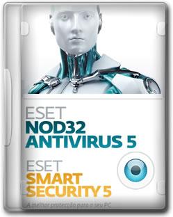 Download ESET Smart Security & ESET NOD32 Antivirus 5 Final PT BR