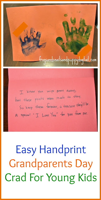 Grandparents Day - craft/card