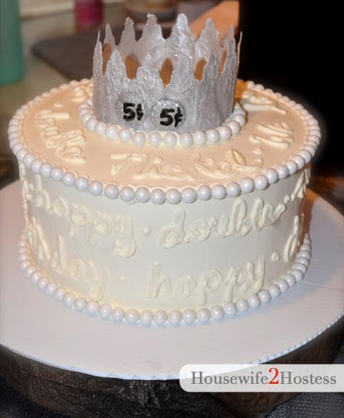 Double Nickel Birthday Cake