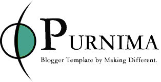 Purnima ~ Blogger Template