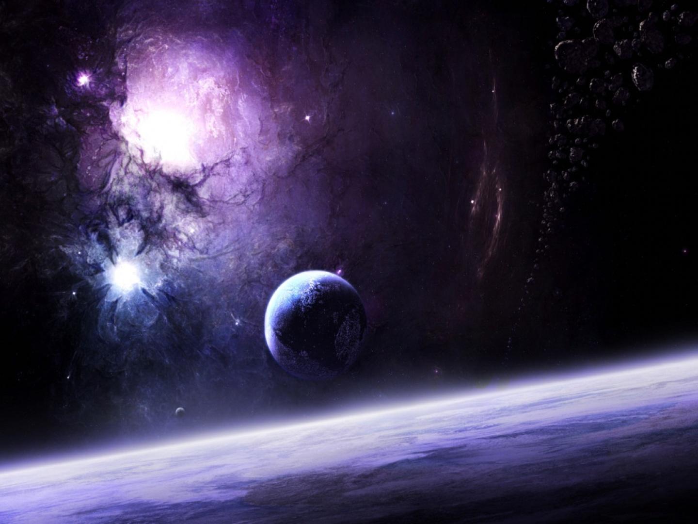 Violetas universo observable - Space wallpaper large ...