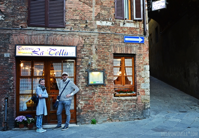 travel toskana| siena restaurant tip - trattoria la tellina | luzia pimpinella