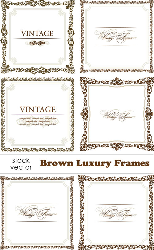500 x 808 jpeg 102kB, Vintage+luxury+brown+frames.jpeg