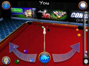 Game Billiard Aces 3D Pool for BlackBerry OS 7