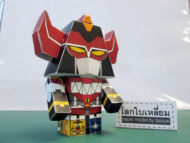 Megazord Paper Toy