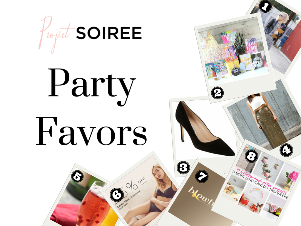 Project Soiree - Party Favors - Links