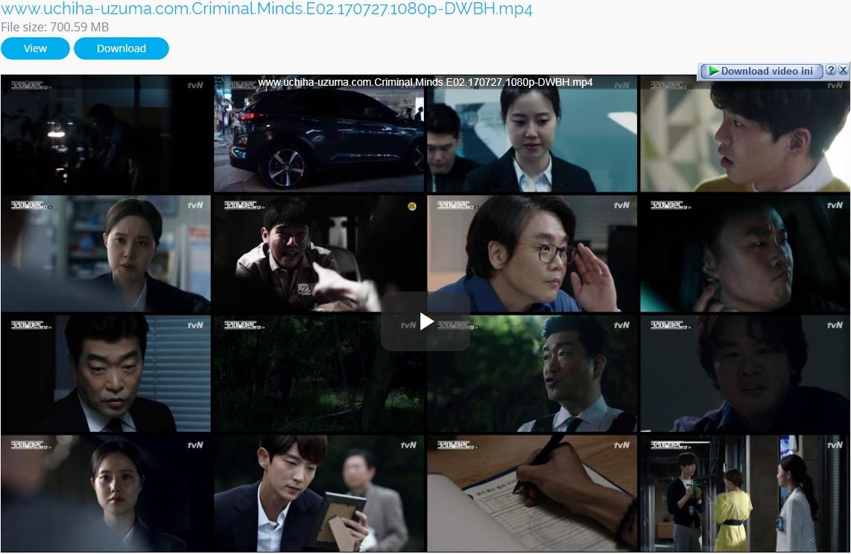 Screenshots Download Film Drama Korea Gratis Criminal Minds aka Keurimineol Maindeu aka 크리미널 마인드 (2017) Episode 02 1080p 720p 480p 360p Subtitle English Indonesia MKV MP4 Uptobox Userscloud Openload Upfile.Mobi