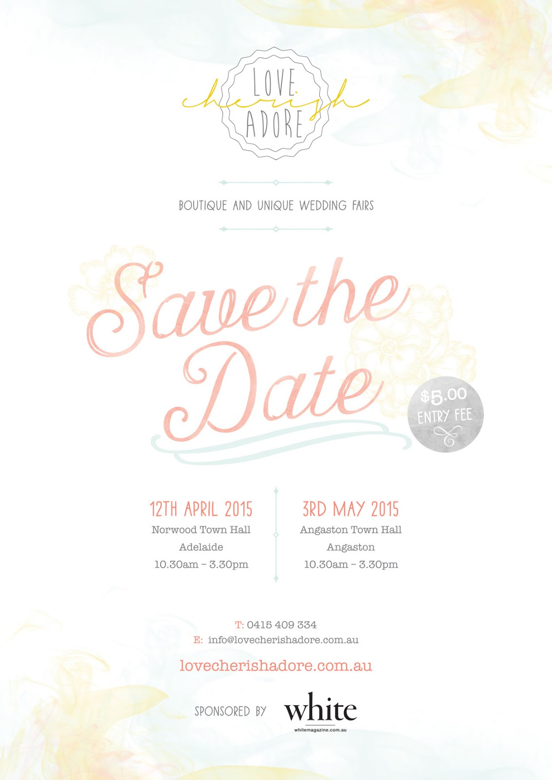 Adelaide Wedding Fair Love Cherish Adore Sail and Swan Vintage Rustic Boho Indie Wedding