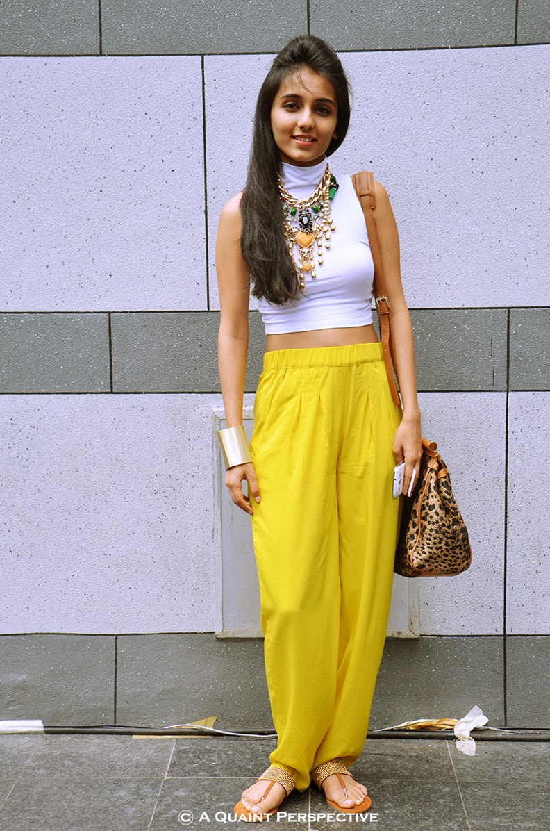 http://aquaintperspective.blogspot.in/, Masoom Minawala How to Wear a crop top