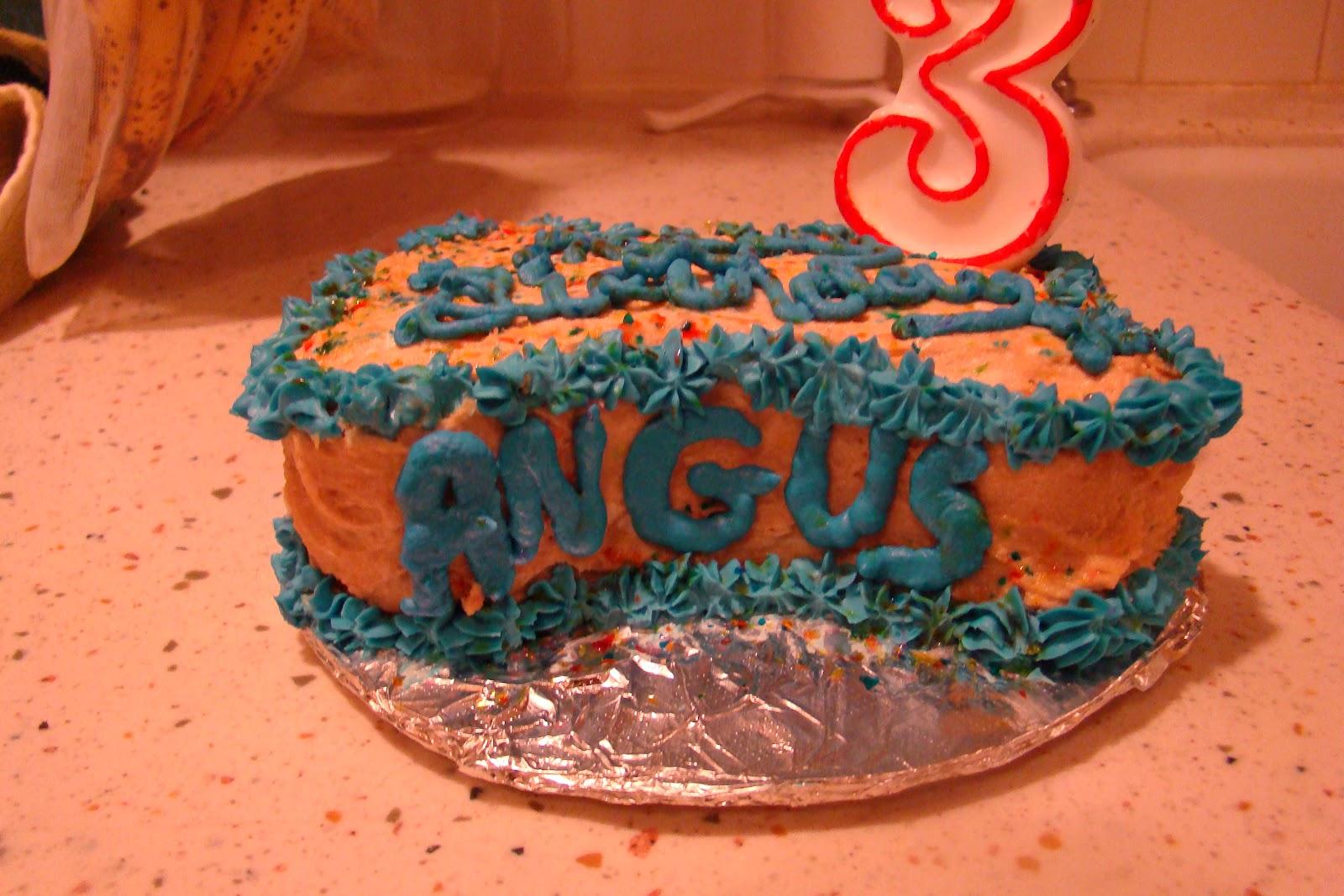 Birthday Cakes For Dogs In Massachusetts ~ Angus our neapolitan mastiff