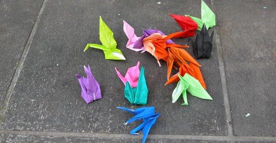Paper Cranes en Hiroshima