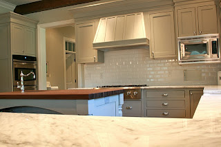 kitchen cabinets gray white