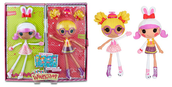 Lalaloopsy Workshop Double Pack - Bunny/Nerd