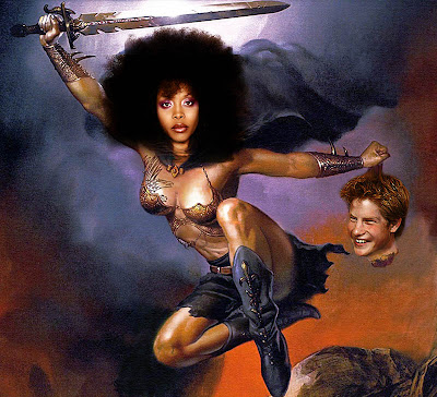 black women warriors fantasy art