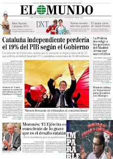 NO colabores con los secesionistas de Cataluña llenándoles los bolsillos con tu dinero e impuestos. NO compres sus productos ni contrates sus servicios