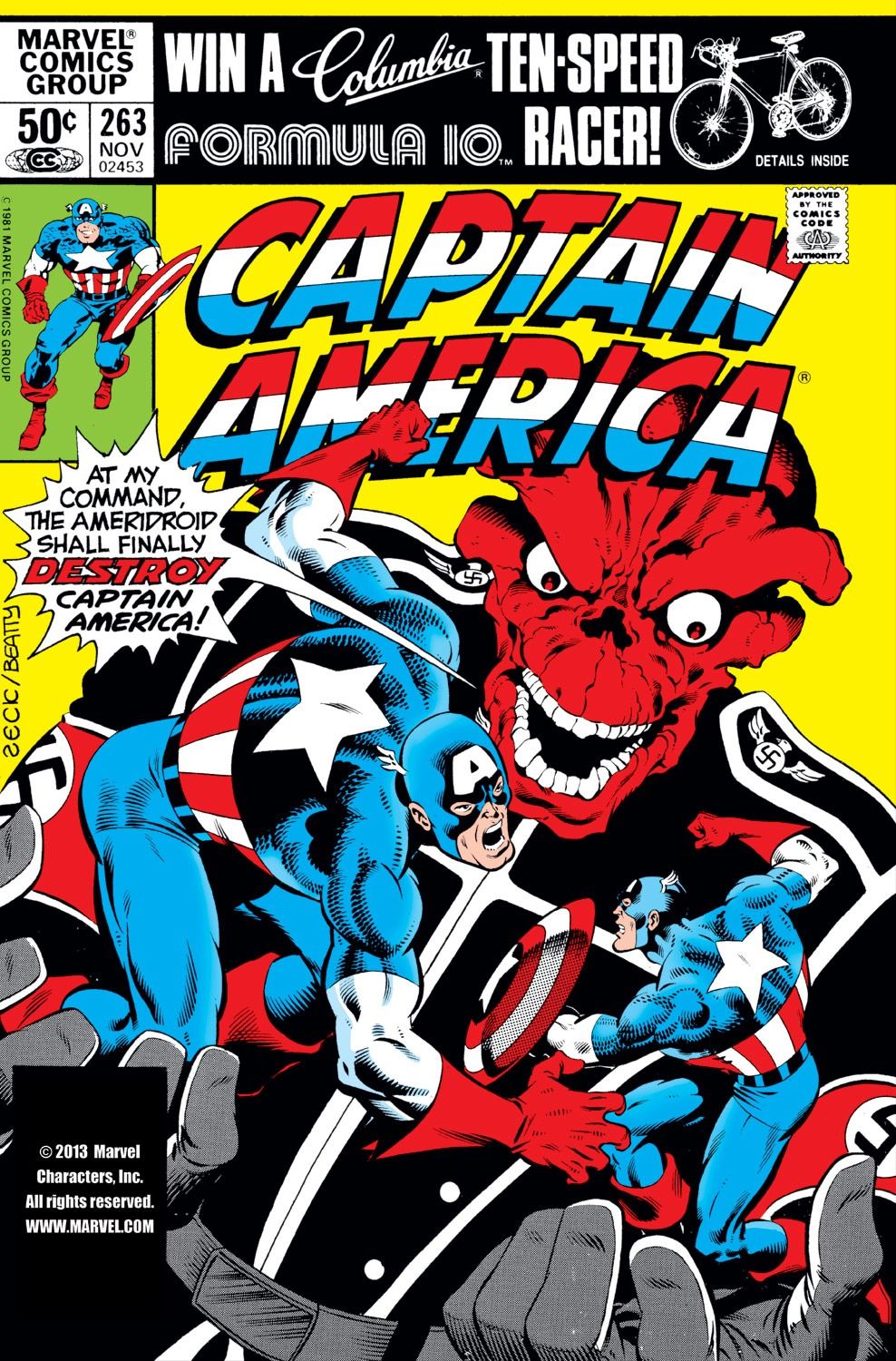 Captain America (1968) Issue #263 #178 - English 1