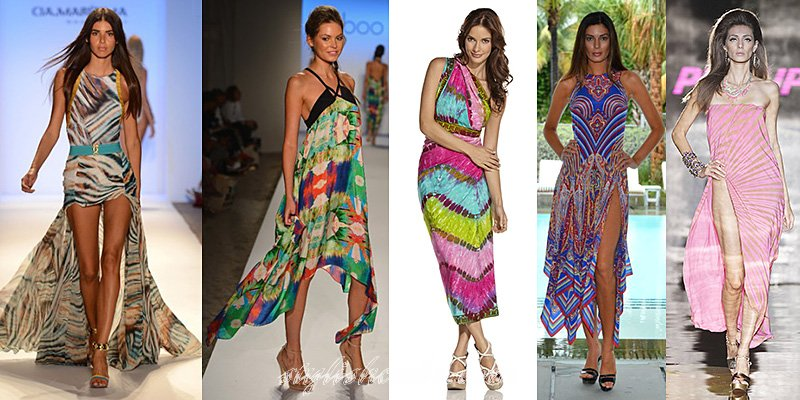spring summer 2013 fashion beach dresses trends love