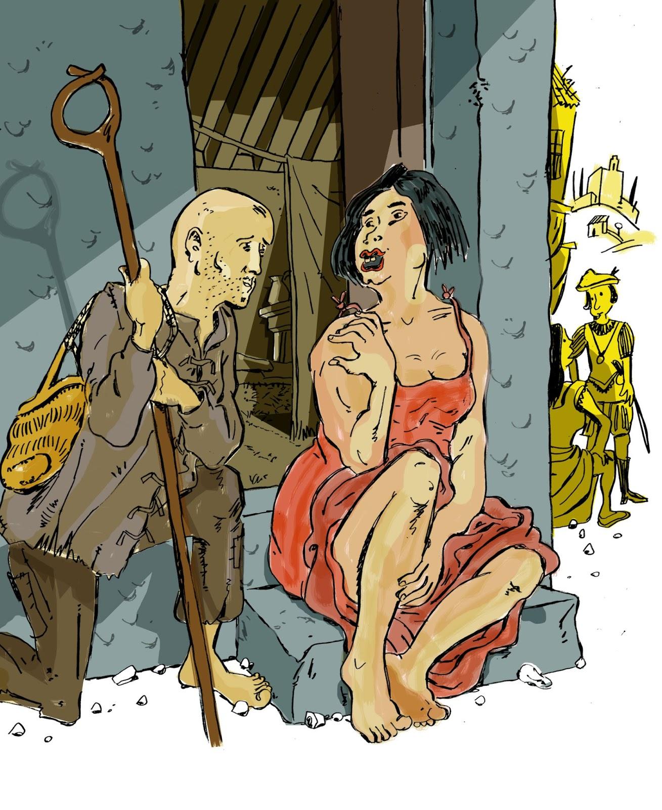 prostitutas avila la santa de las prostitutas