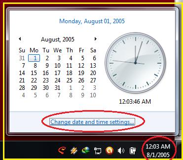 Cara Setting Waktu di Komputer