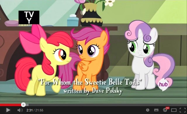 My Little Pony: Friendship is Magic - For Whom The Sweetie Belle Toils