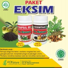Obat Herbal Eksim/Gatal Kulit De Nature