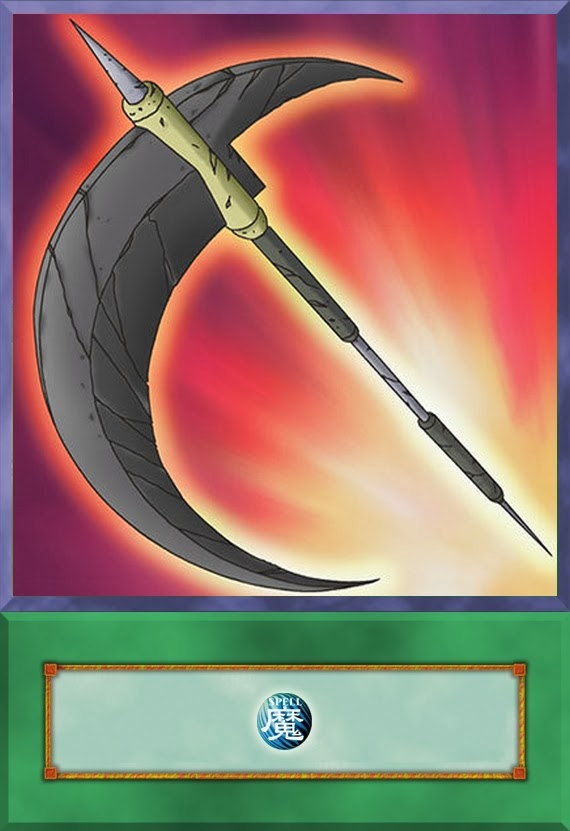 Yu-Gi-Oh  Anime CardsYugioh Reaper Scythe Dreadscythe