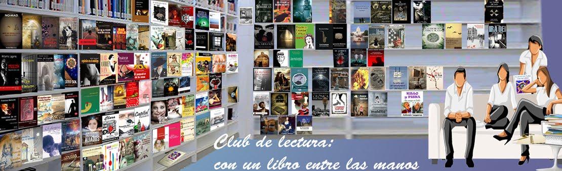 Club de lectura: con un libro entre las manos
