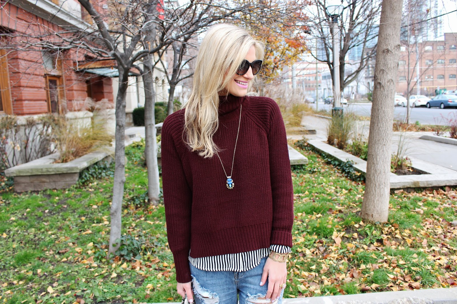 bijuleni-burgundy sweater