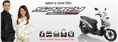 new honda, new varian honda, honda, honda baru, honda spacy, honda spacy helm, honda spacy helm in
