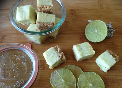 Key lime pie fudge