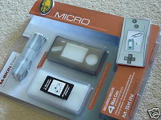 GAME BOY MICRO M-SKIN PACK Screen Protector, etc NEW