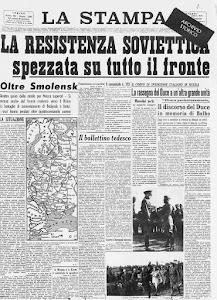 LA STAMPA 4 LUGLIO 1941