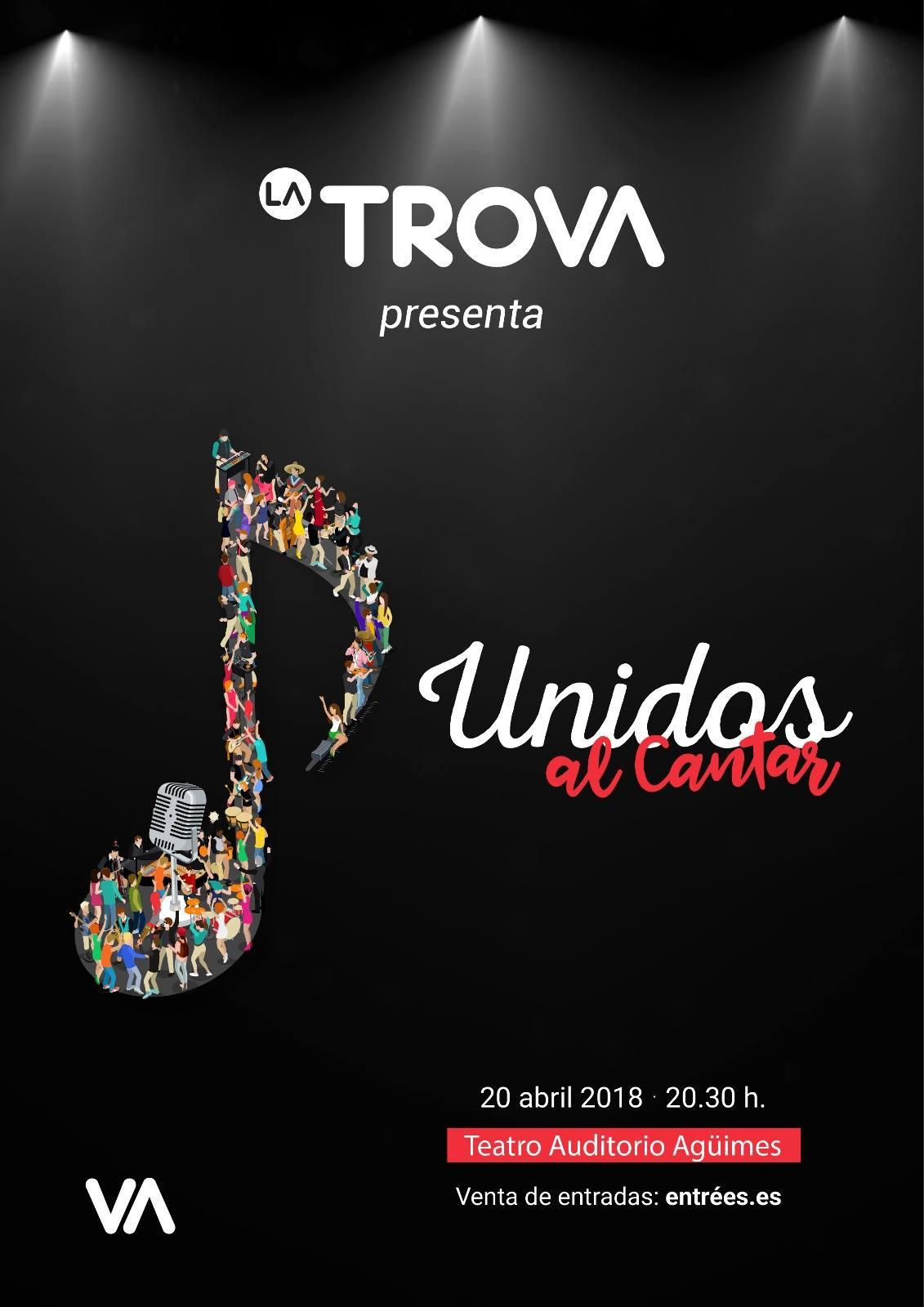 """La Trova presenta """"Unidos al cantar"""" en Agüimes"""