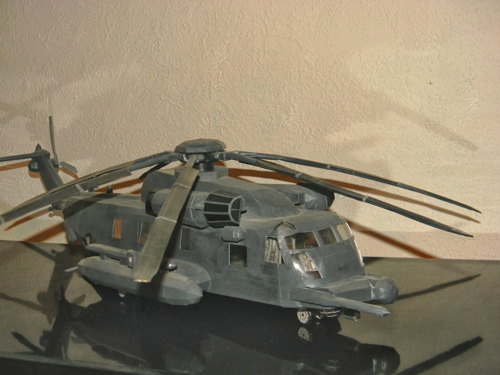 Sikorsky MH53 Pave Low Helicopter Papercraft