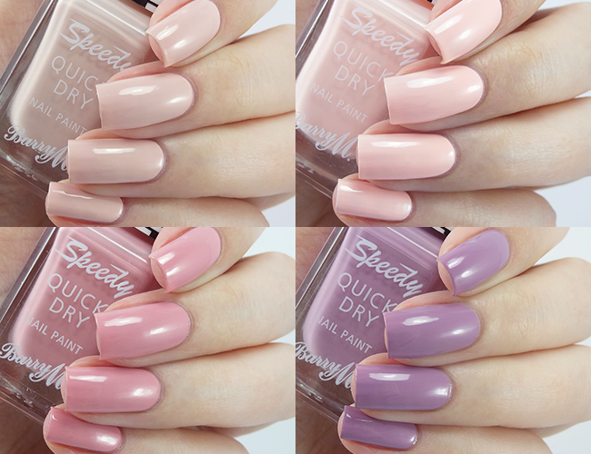 Barry M Speedy Quick Dry Spring Summer 2016