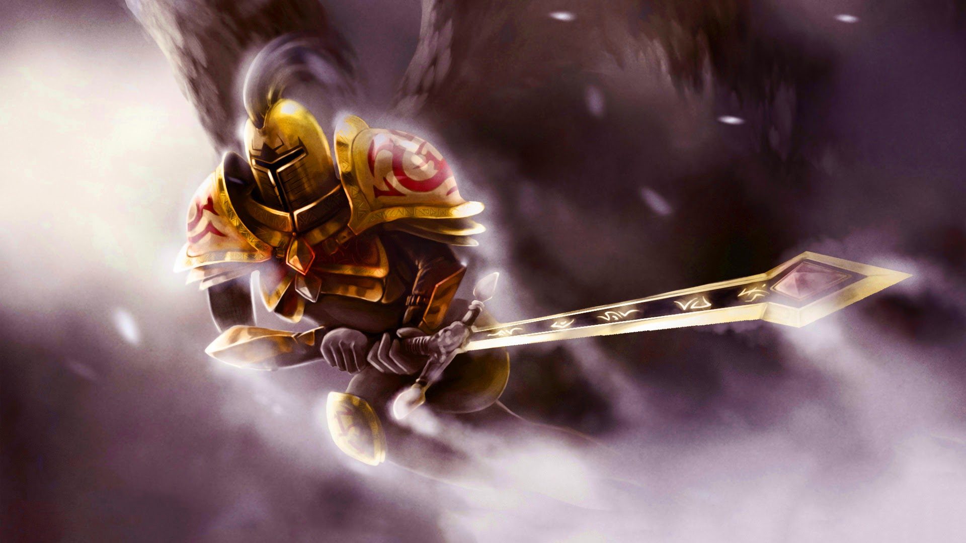 Gold Knight Kayle LoL Skin 9g