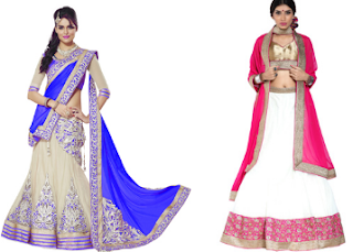 PayTM : Buy Lehengas and Saree Lehengas at Upto 20% off